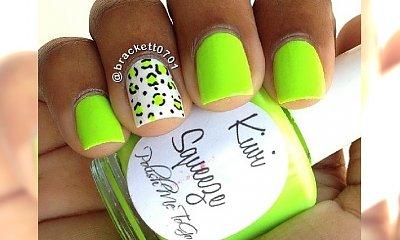 Soczysty manicure w kolorze kiwi! Przywołujemy egzotyczną aurę!