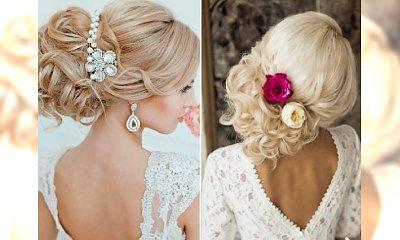 Wielki katalog fryzur ślubnych. Wybierz elegancję i styl tego wyjątkowego dnia!