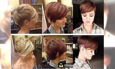 Krótkie fryzury z grzywką - galeria najpiękniejszych cięć prosto z salonu
