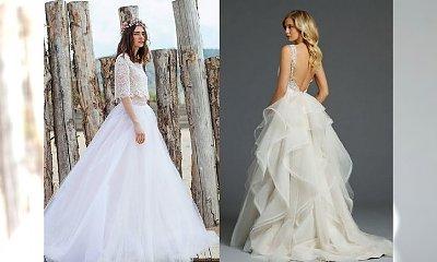 15 sukni ślubnych, które robią MEGA wrażenie