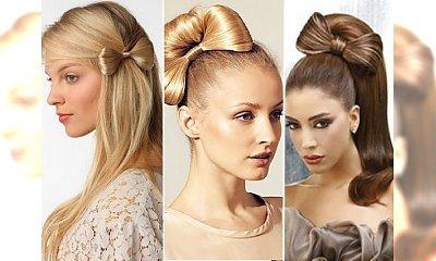 Bow hair - urocze propozycje fryzur z kokardką
