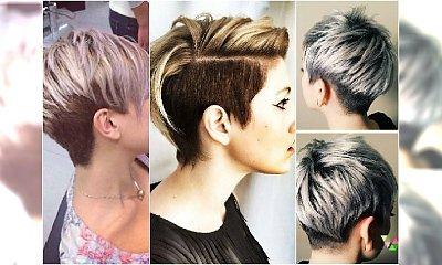 Gorący trend w krótkich fryzurach: ciemny dół i jasna góra. Co powiecie na taką koloryzację?