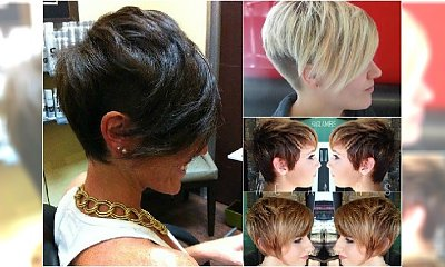 Krótkie fryzury z grzywką - galeria modnych i kobiecych fryzurek prosto z salonu