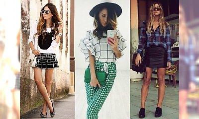 Absolutny must have 2015 - gorące stylizacje w ultra modną kratę!