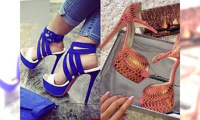 Te buty to prawdziwy HIT sezonu - mega zmysłowe, modne, śliczne egzemplarze na ekstra obcasie