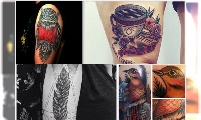 """29 Tajemniczych tatuaży z motywem serialu """"Miasteczko Twin Peaks"""""""