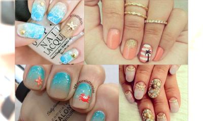 Fantazyjne manicure na plażę - Sprawdź sobie wakacje na dłoniach!