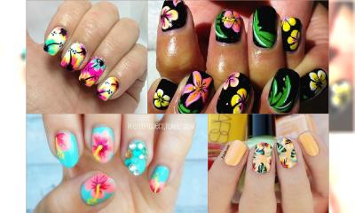 Tropikalne manicure dla dziewczyn czekających na wakacje! 15 kolorowych wzorów