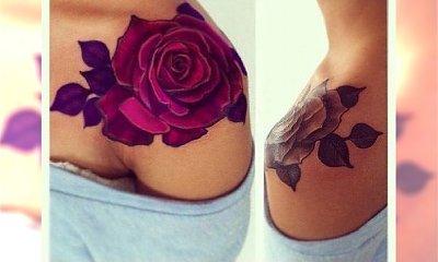 Niesamowicie kobieca sztuka tatuażu - galeria Rose Tattoo