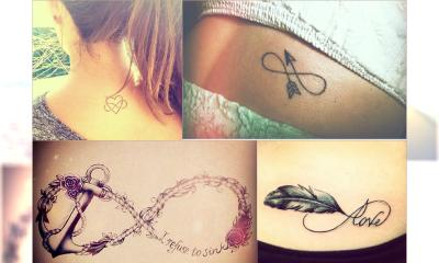 """HOT: Wybrałyśmy 20 najsłodszych tatuaży """"Infinity"""" - Zobacz top wzory nieskończoności"""