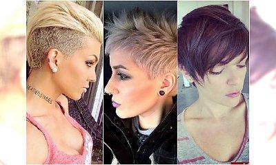 Krótkie fryzury na czasie: z grzywką, pixie cut, asymetryczne. Wasze zdjęcia!