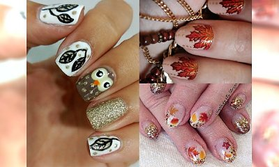 Manicure inspirowany jesienią. 20 klimatycznych wzorków, które będą pięknie wyglądać na twoich paznokciach