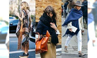 Najmodniejsze szalika sezonu jesień 2015 - Zobacz, jak je nosić niczym gwiazda Street Style