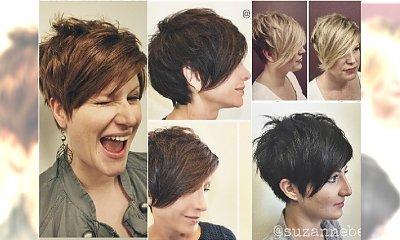 Krótkie fryzury damskie 40+. Galeria odmładzających cięć na czasie!