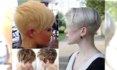 Krótkie fryzury pixie cut w najmodniejszych wariantach: z grzywką, pixie bob, undercut