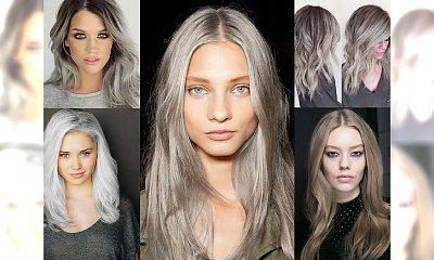 Modna koloryzacja włosów 2016 - popielate blondy w 30 hipnotyzujących odcieniach