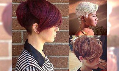 Galeria krótkich fryzur z modną grzywką na ten sezon [GALERIA]