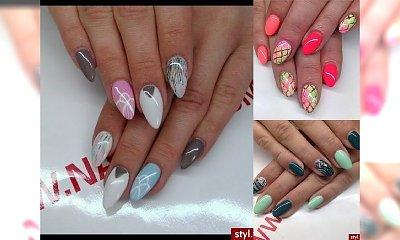 Manicure dla paznokci w kształcie migdałków - TOP galeria