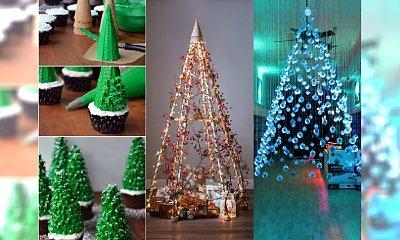 Choinka w wersji nowoczesnej. 24 kreatywne pomysły na świąteczne drzewko