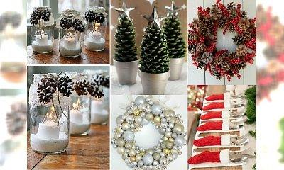 DIY: Pomysłowe dekoracje na Boże Narodzenie