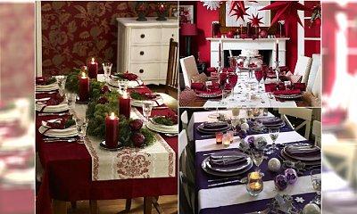 Jak udekorować stół na święta Bożego Narodzenia? 15 stylowych propozycji