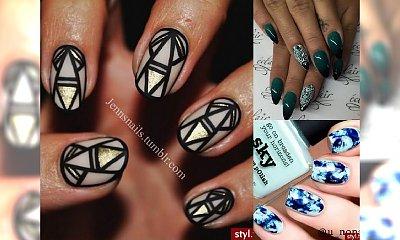 Kilkanaście mega modnych propozycji manicure - to jest HOT!