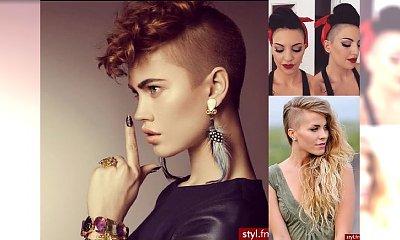 20 fryzur z wygolonymi bokami - zmysłowe, modne, drapieżne