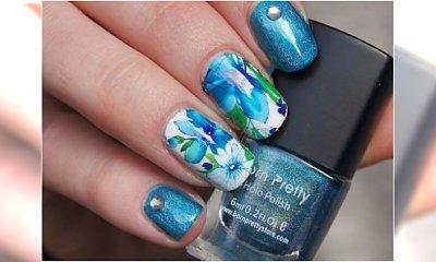 Akwarelowe paznokcie - niezwykłe wzorki jak z obrazów. Wypróbujcie na wiosnę!