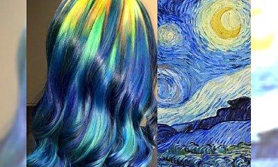Koloryzacja inspirowana największymi dziełami sztuki - Zobacz niesamowite efekty tej oryginalnej kolorystki