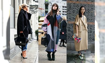 Hot hit - płaszcz oversize. Jak go nosić? Zobacz najgorętsze inspiracje tego sezonu!