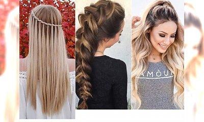 Stylowe fryzury dla długich włosów - te propozycje Was zauroczą!