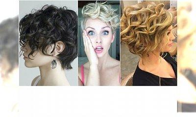 Krótkie fryzury dla kręcących się włosów. 20 propozycji, które rozwiążą twój problem