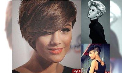 Stylowe fryzury dla dziewczyn - galeria krótkich cięć 2016!