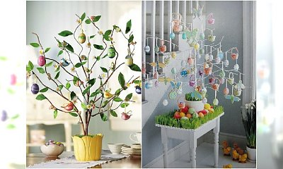 Dekoracje wielkanocne: drzewko z pisankami. Galeria fantastycznych inspiracji