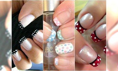 Wiosenny french manicure - co powiecie na takie końcówki?