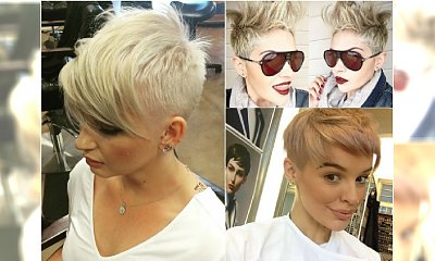Krótkie fryzury z Instagrama - 20 gorących propozycji na sezon wiosna lato 2016