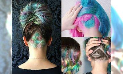 Kolorowe fryzury undercut dla odważnych dziewczyn z charakterem! 17 propozycji, które Cię zachwycą