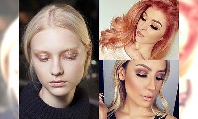 Golden blonde - złocisty odcień na wiosnę
