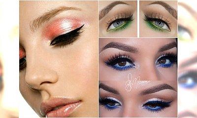Kolorowy makijaż oczu - jak go zrobić modnie i z wyczuciem? Zobacz 20 najlepszych inspiracji