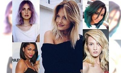 Półdługie fryzurki dla każdej z Was - czarująca galeria!