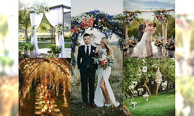 Trendy ślubne 2016: Wesele w plenerze. Zobacz najpiękniejsze inspiracje