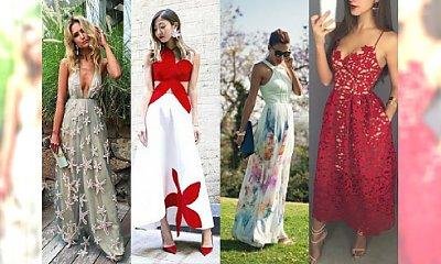 Ponad 20 stylowych sukienek na letnie wesele - Skuś się na najnowsze trendy 2016 i oczaruj wszystkich na ważnej imprezie!