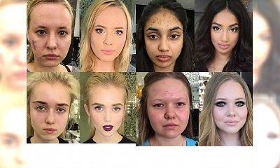 SZOK! Makijaż może zdziałać cuda!