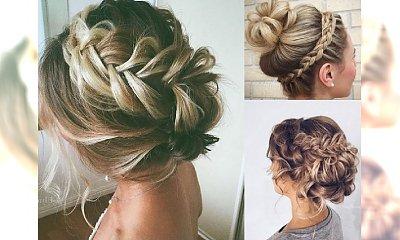 Urocze, luźne upięcia a l'a bride hair na długi weekend