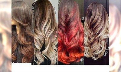 WOW Najpiękniejsze koloryzacje ombre w sieci!