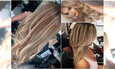 Kawowe blondy na jesień - 20 supermodnych propozycji