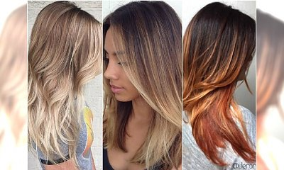 Słoneczne ombre hair - supermodny efekt delikatnego rozświetlenia!