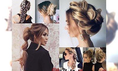Mega fryzurki dla włosów średnich i długich - WOW!