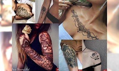 Nowoczesne tatuaże dla charyzmatycznych kobiet! Te motywy to prawdziwy HIT!