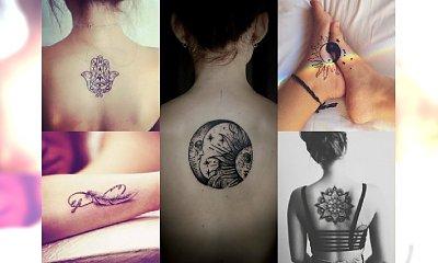 Skuś się na magiczny tatuaż z stylu Boho. Ponad 20 ślicznych wzorków z łapaczem snów, manadalą, piórkiem, ręką Fatimy i planetami